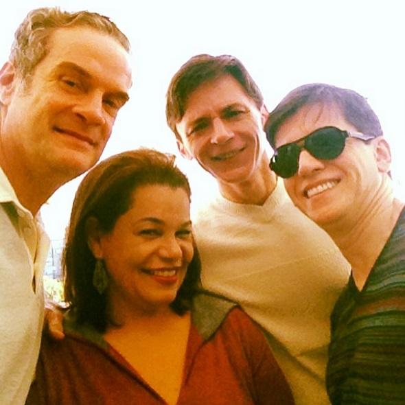 Newman Belo, Madalena Albuquerque, Zezinho e Turíbio Santos - Crédito: Reprodução Facebook