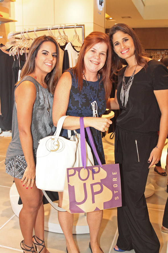Manuela Tenório, Taciana Mendonça e Gabriela Galvão - Crédito: Nando Chiappetta/DP/D.A Press