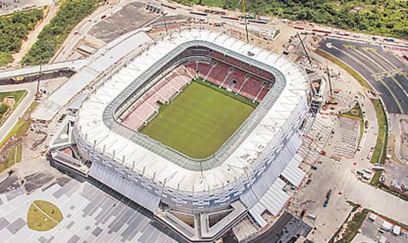 Arena Pernambuco/Divulgação