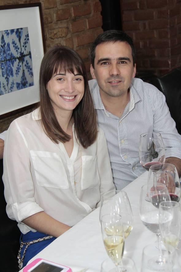 Eduarda e Luiz Patrão
