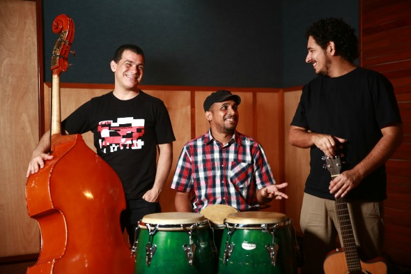 Walter Areia (centro da foto) - Crédito: Bernardo Dantas/ DP/D.A Press.