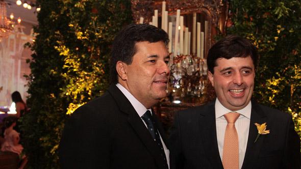 Mendonça Filho e Ramiro Becker Crédito: Nando Chiappetta/DP/D. A Pres