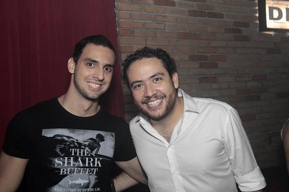 Lucas Maciel e Rodrigo Limoni - Crédito: Gleyson Ramos/Divulgação