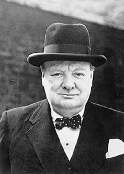 Winston Churchill/Wikemidia/Reprodução