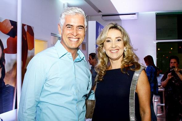 Romero Duarte e Silvana Aguiar -  Crédito: Duda Carvalho/Divulgação