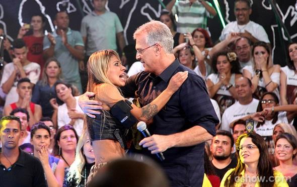 Vanessa e Pedro Bial - Crédito: TV Globo/Divulgação