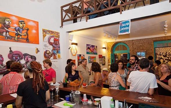 Galeria Café Castro Alves Crédito: Reprodução Facebook