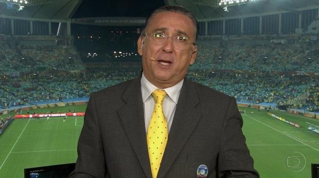 Galvão Bueno Crédito: TV Globo/Divulgação