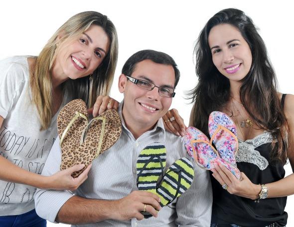 Monica Simoni, André e Fabiana Carreras Crédito: Varela/Divulgação