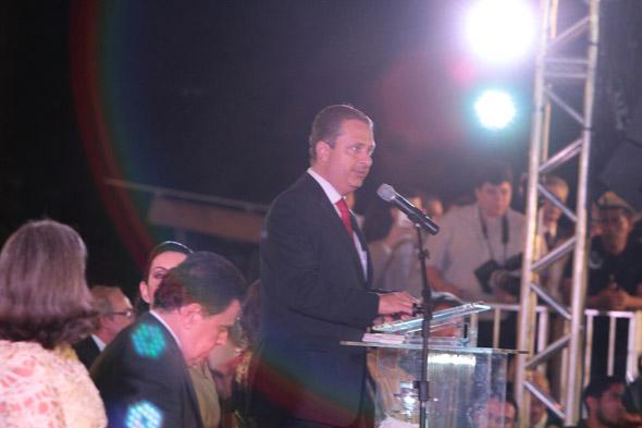 Eduardo Campos deixa o governo do estado para disputar a presidência - Crédito: Nando Chiappetta/DP/D.A Press.