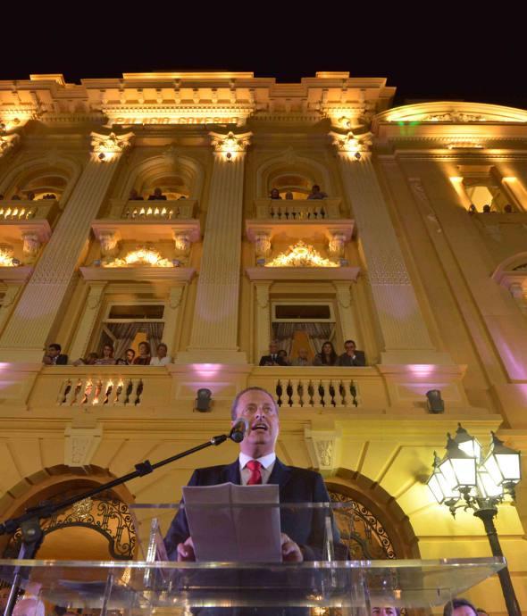 O discurso de Eduardo Campos/Eduardo Braga