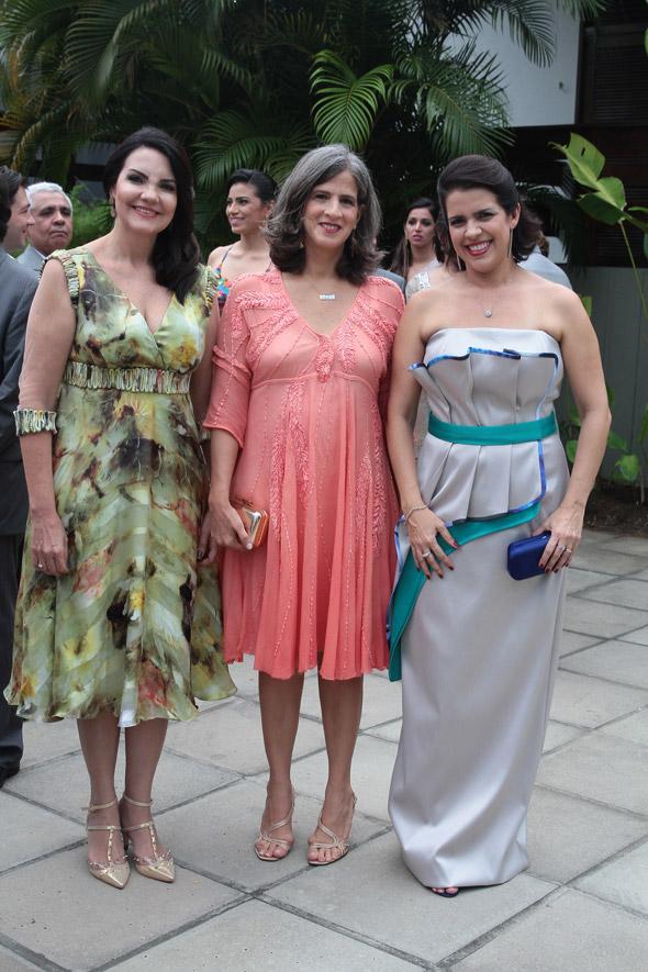 Leila Queiroz, Renata Campos e Cristina Mello - Credito: Nando Chiappetta/DP/D.A Press