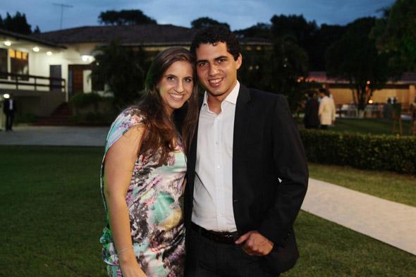 Eduarda Campos e Tomas Alencar - Credito: Nando Chiappetta/DP/D.A Press