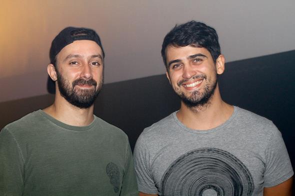 Fernando Marx e Rodrigo Ilino -  Crédito: Duda Carvalho/Divulgação