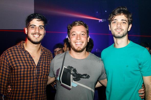 Rafael Mattos, Luiz Cavalcante e Thiago Carvalheira - Crédito: Duda Carvalho/Divulgação