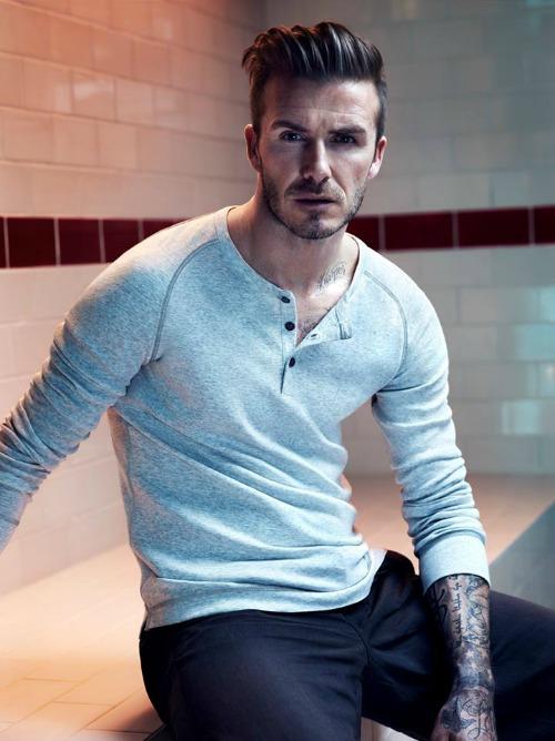 David Beckham Crédito: H&M/Divulgação