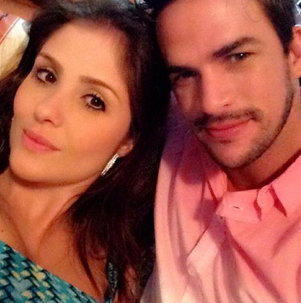 Thais Machado e Rodrigo Carvalho Crédito: Instagram