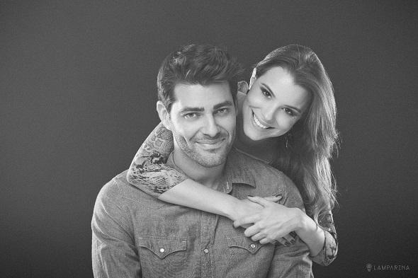 Rejane e Hudson - Crédito: Lamparina/Divulgação