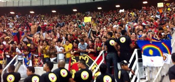 Sessenta mil torcedores na final da Copa do Nordeste/Foto DP