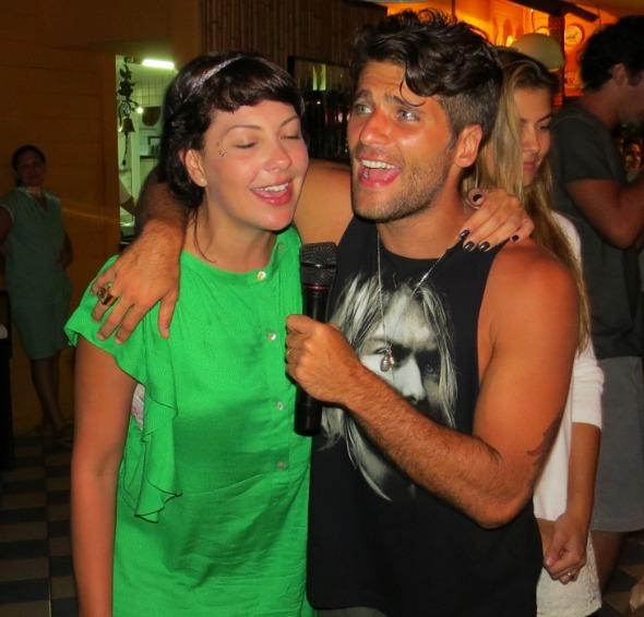 Bruno Gagliasso e Fabíula Nascimento - Crédito: Ana Clara Marinho/Divulgação