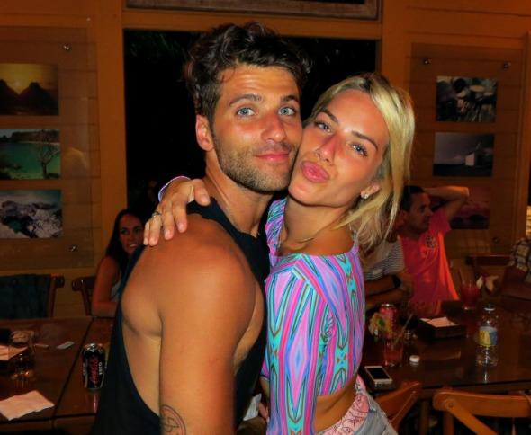 Bruno Gagliasso e Giovanna Ewbank se divertem em Noronha para comemorar aniversário do ator - Crédito: Ana Clara Marinho/Divulgação