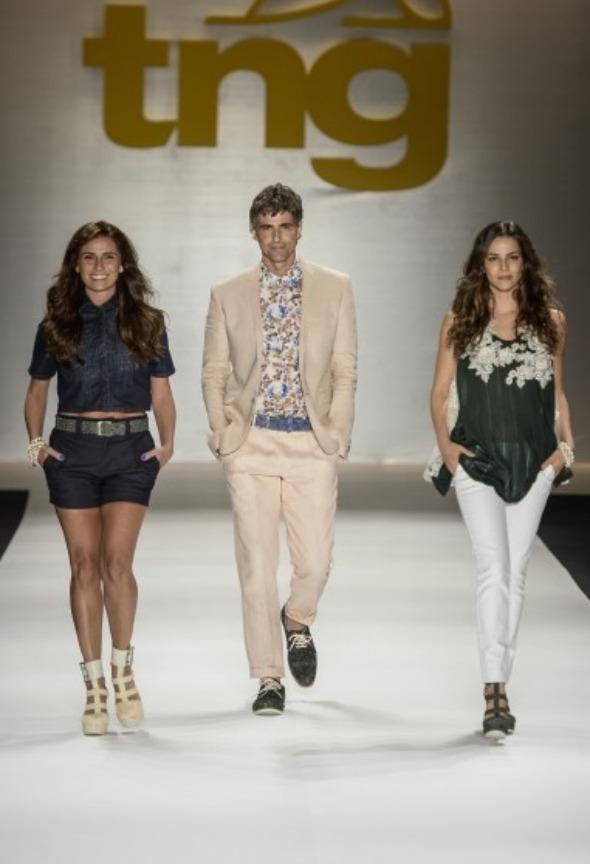 Giovanna Antonelli, Reynado e Tainá Muller Crédito: Zé Takahashi/ Ag. Fotosite