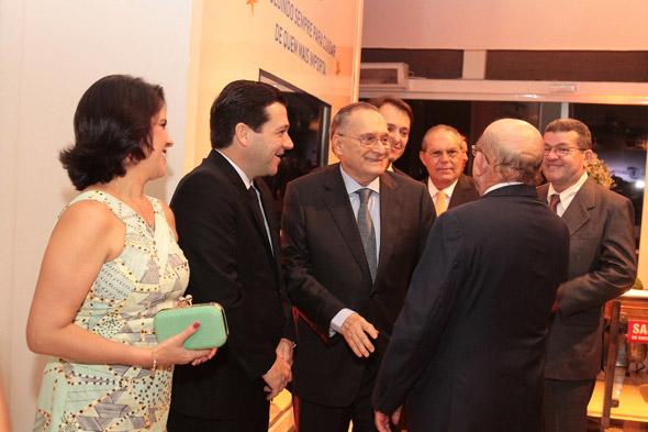 Cristina Mello, Geraldo Julio, Roberto Magalhães e Esutácio Vieira - Crédito: Nando Chiappetta/DP/D.A Press