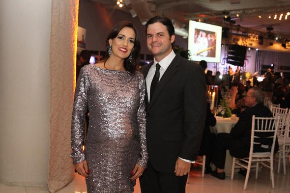 Anelise e Eustácio Vieira Filho - Crédito: Nando Chiappetta/DP/D.A Press