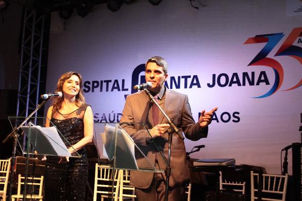 Sabrina Rocha e André Galindo - Crédito: Nando Chiappetta/DP/D.A Press