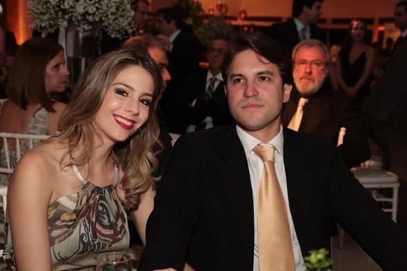 Maria Eduarda Hackel e Marcelo Vieira - Crédito: Nando Chiappetta/DP/D.A Press