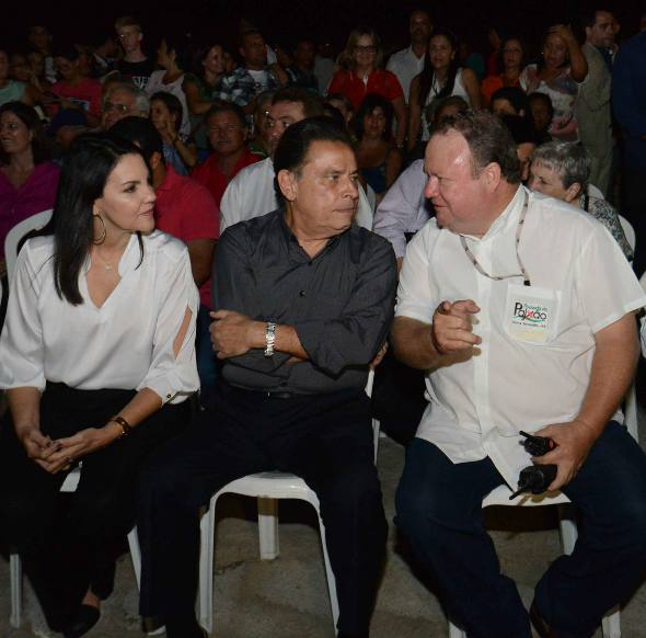 Leila Queiroz, João Lyra Neto e Robson Pacheco/