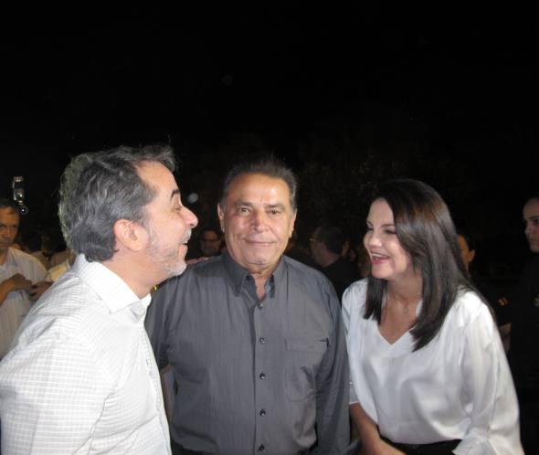 Guilherme Machado, João Lyra Neto e Leila Queiroz