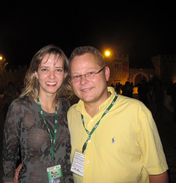 Cecília e André Correia