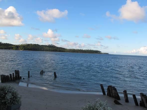 O belo visual da Praia dos Carneiros