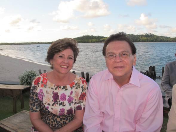 Cleide e Luciano Teixeira
