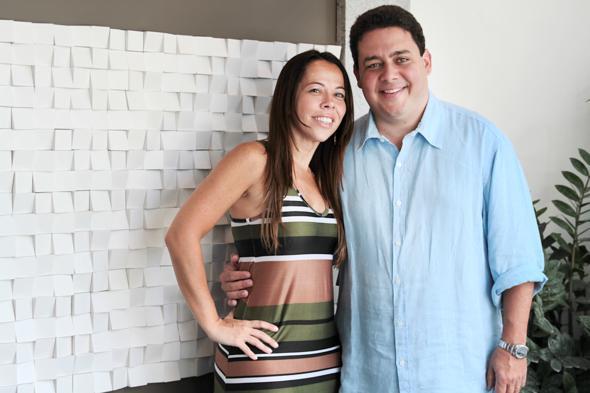 Dabiela Gusmão e Felipe Santa Cruz. Crédito: Annaclarice Almeida / DP / D.A Press