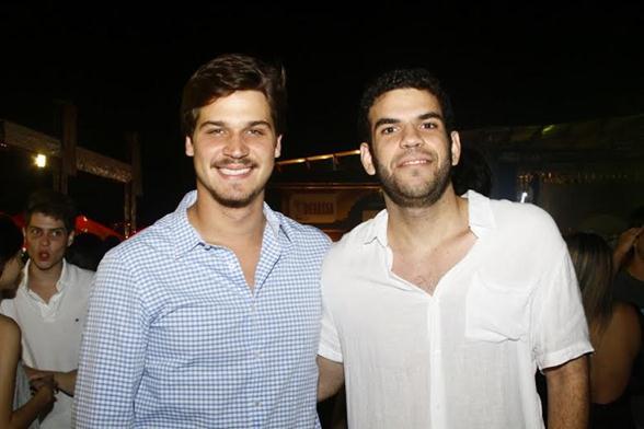 Felipe Leal e Pedro Ernande - Crédito: Duda Carvalho/Divulgação