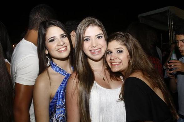 Luana Numeriano, Carla Medeiros e Mariana Cavalcanti - Crédito: Duda Carvalho/Divulgação