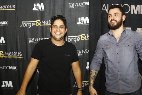 Dupla Jorge e Mateus - Crédito: Duda Carvalho/Divulgação