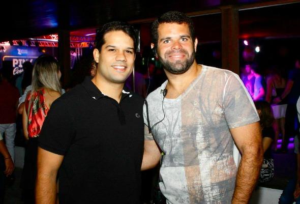 Eduardo Trajano e Fred Câmara - Crédito: Humberto Reis/Comunnik