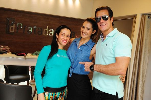 Andrea Rocha, Yvi Rocha e Carlos Machado - Crédito: 4 Comunicação/Divulgação