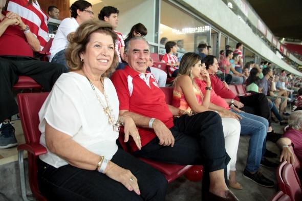Lucia e Gabriel Bacelar Crédito: Gustavo Penteado/Divulgação