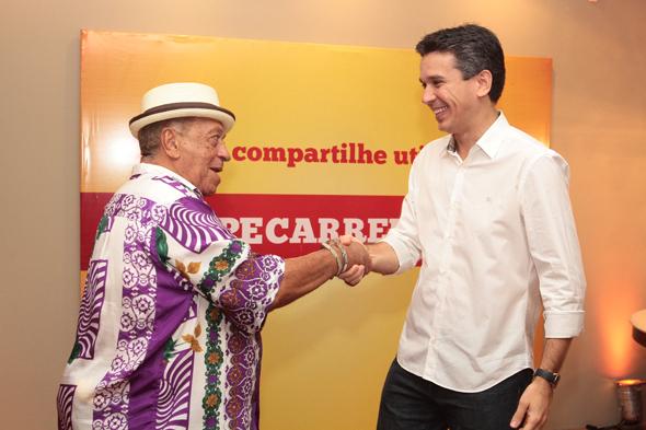 Genival Lacerda e Felipe Carreras - Crédito: Nando Chiappetta/DP/D.A Press