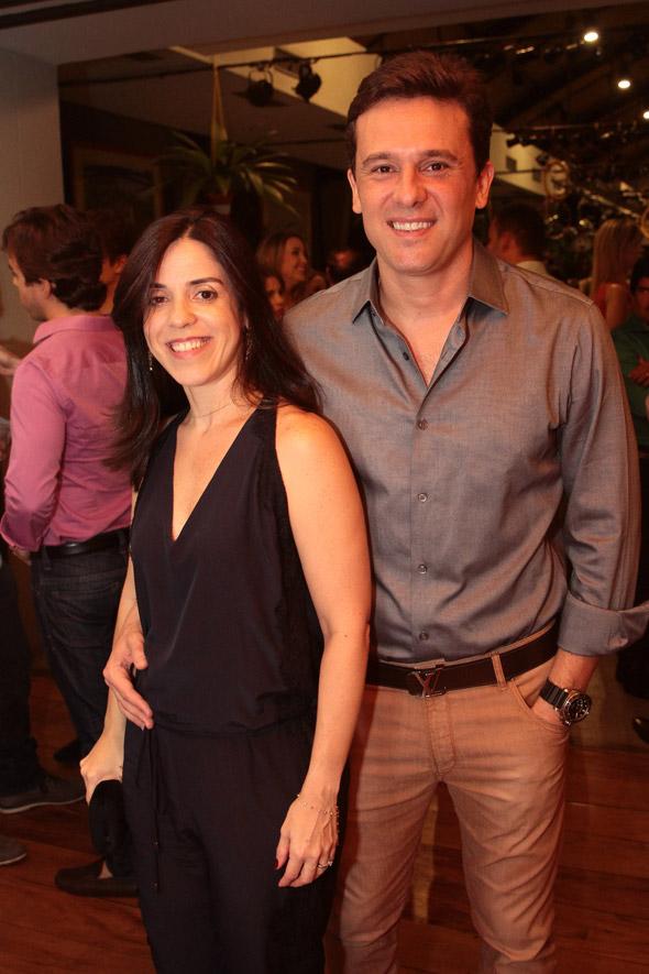 Ana Cláudia e Augusto Accioli - Crédito: Nando Chiappetta/DP/D.A Press