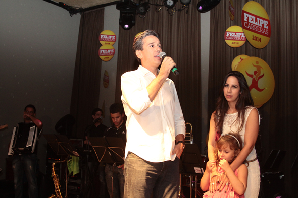 Felipe Carreras - Crédito: Nando Chiappetta/DP/D.A Press