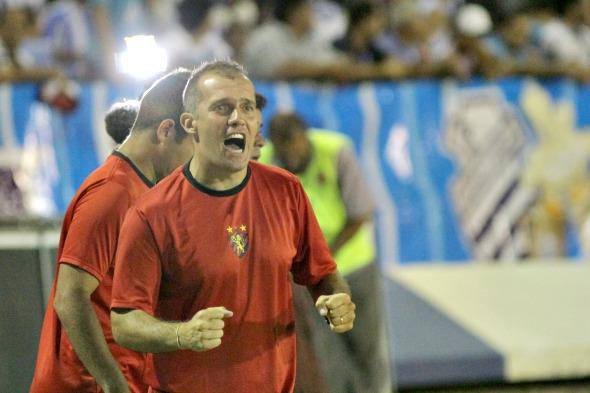 Eduardo Baptista, treinador do Sport, ministra palestra, amanhã, na sede do clube - Crédito: Roberto Ramos/DP/D.A Press