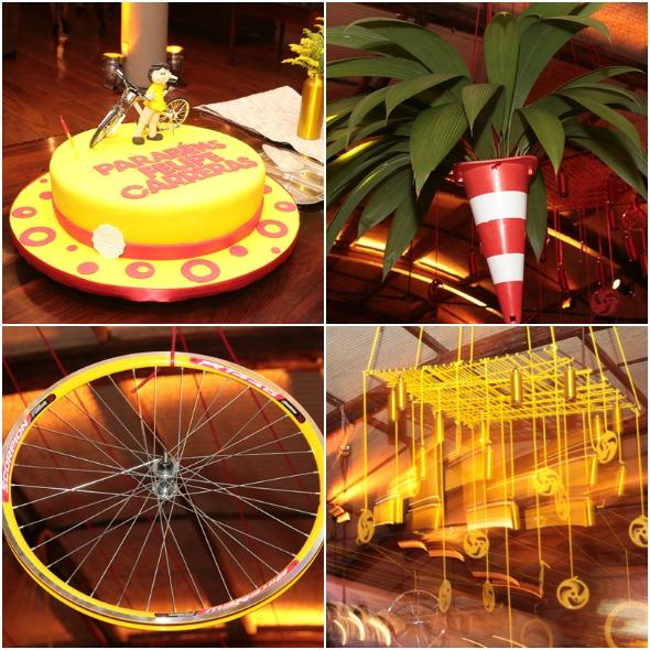 Detalhes do bolo e da decoração - Crédito: Nando Chiappetta/DP/D.A Press