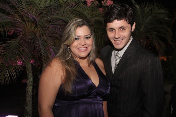 Lidier Roberta e DJ Paulo Marreta Crédito: Roberto Ramos/DP/D.A.Press