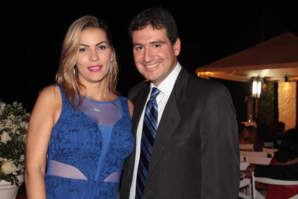 Adriana Resende e Janies Bauer Crédito: Roberto Ramos/DP/D.A.Press