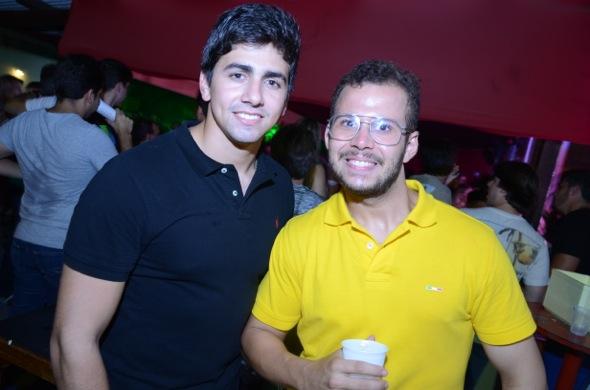 Bruno Martins e Thiago Tavares. Crédito: Ricardo Moreira/ Divulgação